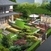 大型私人别墅绿化装修