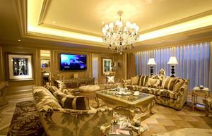 让人叹为观止的欧式客厅装修效果图