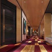 酒店走廊吊顶装修