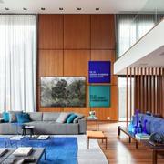复式楼客厅装修效果图