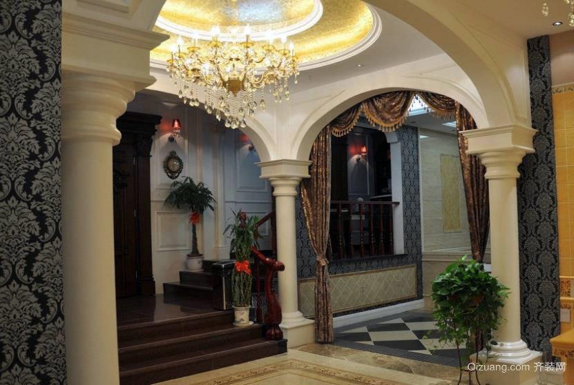 欧式别墅设计装修之拱门效果图