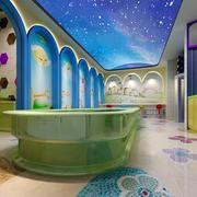 游泳馆拱形门设计