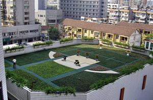 新颖屋顶花园绿化设计效果图