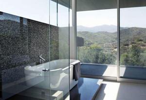 经典家装大户型浴室按摩浴缸装修效果图素材大全