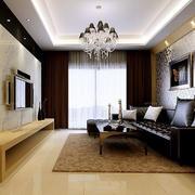 欧式客厅精美瓷砖装修