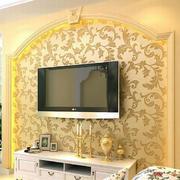 欧式奢华背景墙设计