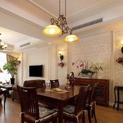 餐厅吊顶创意灯饰设计