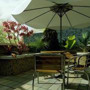 露台餐桌设计