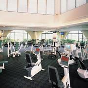健身房设备摆设