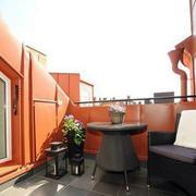 阳台绿意设计