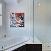 卫生间浴缸隔断