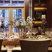 餐厅桌台装饰