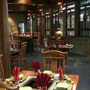 火锅店桌椅设计