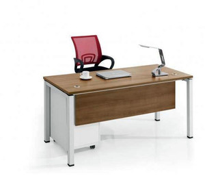 现代简约办公桌设计