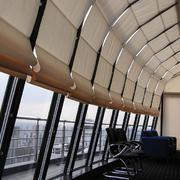大型公司长廊飘窗设计