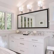洗手间镜饰装修