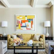 混搭风格客厅装饰画