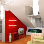 阁楼小电视柜