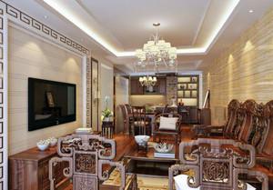 中式客厅桌椅设计