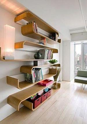 人文进步的载体:书柜装修效果图图集
