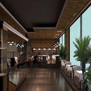 咖啡厅走廊吊顶