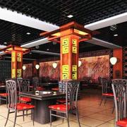 中式火锅店设计