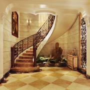S型旋转楼梯设计