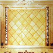 金色系背景墙装修