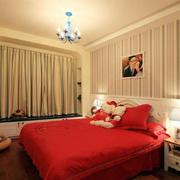 婚房卧室飘窗设计