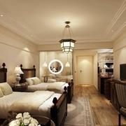 酒店卧室灯饰装修