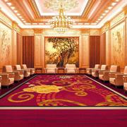 欧式奢华别墅地毯设计