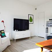 公寓电视柜效果图