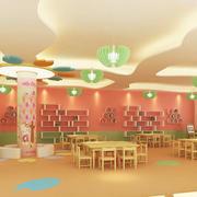 幼儿园吊顶灯饰设计