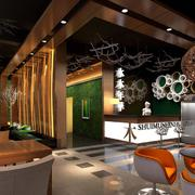 咖啡厅过道吊顶设计