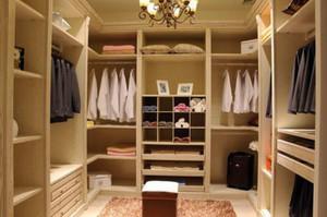 上档次的欧式整体衣柜装修效果图展示
