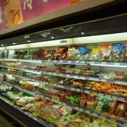 超市货架效果图