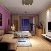 一居客厅装修效果图
