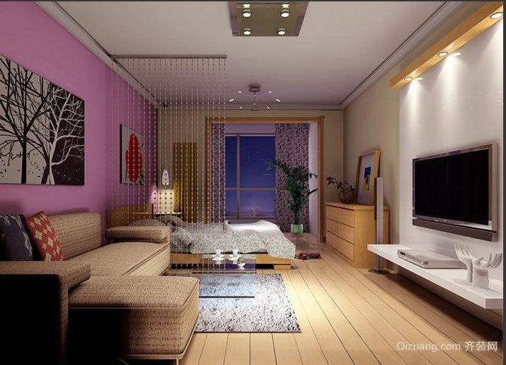 满足您的心理需求:都市家庭一居室小户型装修图素材