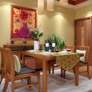 餐厅原木装修