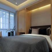 简欧风格卧室飘窗设计