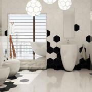 卫生间背景墙设计