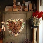 咖啡厅照片墙装修
