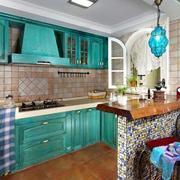 东南亚风格厨房吧台设计