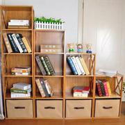 书房整体置物柜设计