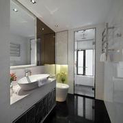 简约风格浴缸设计