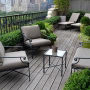 露台美式沙发设计