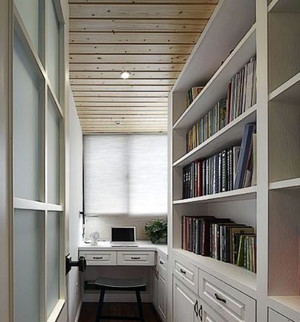 书房整体书柜设计