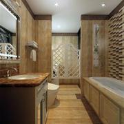 欧式风格浴缸设计