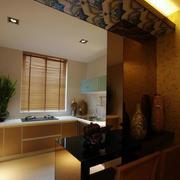 厨房小吧台设计效果图