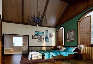 超有贵族范儿的美式装修风格样板房效果图素材大全